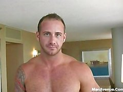 "Straight Naked Hunk With Huge 8"" Dick Showing Off"