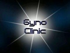 Les visites du Blonde fille un médecin pour examens de Gyno