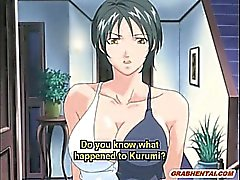 Bondage hentai pregnant gets ass and mouth injection