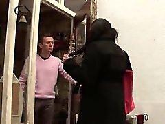 Mujeres BBW Arab amplio boobed duro anal jodido aire