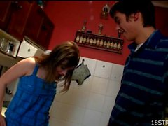Mutual oral satisfaction of teen couple