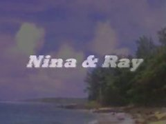 Vintage Beach Fucking Porn-Ray Victory w Nina De Ponca