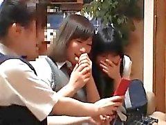 Horny группой азиатской милашки под видом часть4
