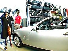 Lateinischen -Gangbang in der Garage