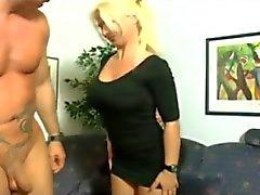 German Blonde Milf Threesome by TROC