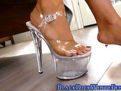 Busty asians feet cumshot