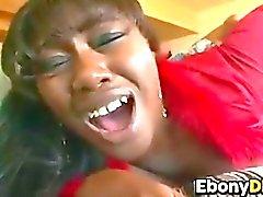 Mature Ebony Slut With A Teen Girl