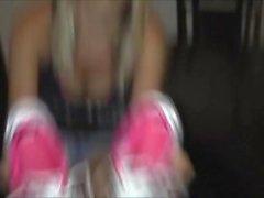 cristine socks feet
