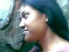 Beautiful Indial Bengali girl in park-- By Sanjh