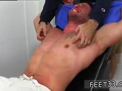 Sexy gay mexicans sucking toes Casey More Jerked & Tickled
