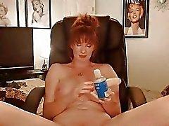 Reizvoller Dicke Titten Mütter Shows Nackte in einer Heißen Mösen Spielen Matu