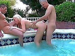 Cunt of busty girl fucked