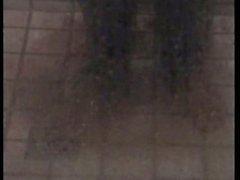 Pornstar legend Silver Forrest fucks black tramp in the shower