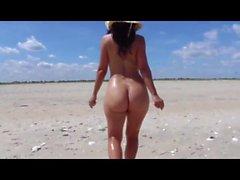 Milf on the beach