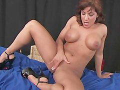 Thick Dildo For Big-tit Beauty