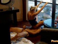 EDC Vegas Girl Fucking Til Morning Light In The Pyramid Window