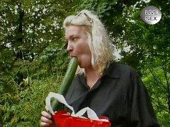 German girl got hooked up