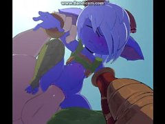 Cum Dumpster Tristana flash (with easter eggs)