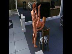 Tranny Transformation Story (Sims 3)