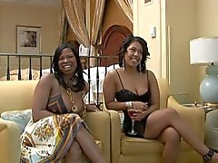 Two Black Ladies On Camera In Las Vegas