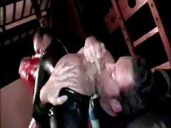 Latex Sex Threesome