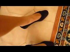 Shoes ballerina shorts jeans corti e ballerine
