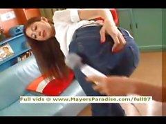 Asami et Ogawa fille innocente de chinoise montre sa cul bombé