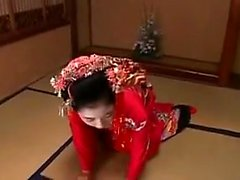 Sexy Oriental housewives satisfy their desire for hard cock