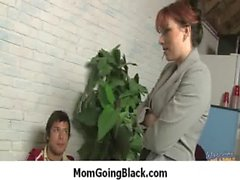 White Milf Rides Black Monster Dick 22