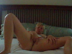 Naughty Brooke Fingering Her Pussy