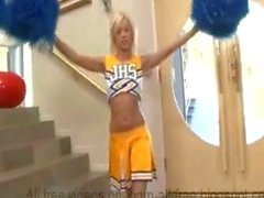 Creampie cheerleader teen
