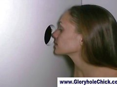Cum loving gloryhole slut