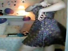 Caroline hot webbkamera dansar