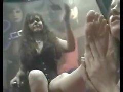 Pornostar fetish feet