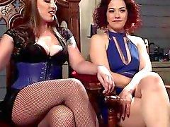 Mistress Карское и Ингрид рта