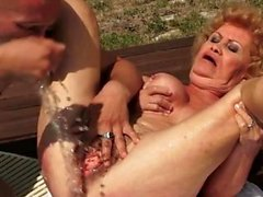 Hot milf doggystyle and cumshot