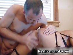 Horny french GF having fun sucking some part5