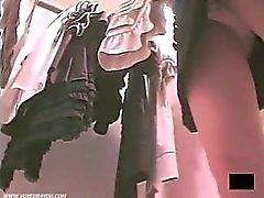 Seksikkäitä Upskirt Alushousut pyytämien Spycam