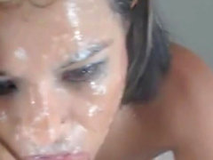 El legendario sloppy deepthroat camshow de sophie