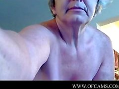 Granny on cam trying celeberity bitches