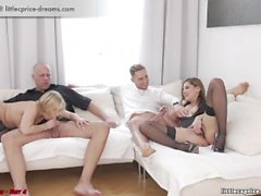 Swinger meeting - WeCumToYou .4 - Little Caprice, Lena Nitro, Marcello.....