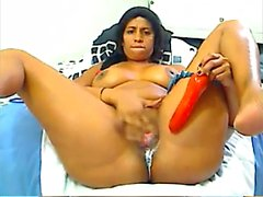 Latin Milf Public Webcam Lotion on big boobs