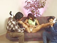 avmost - Japanese milf licked in her toe and dildoed in her hole