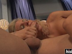 fat dick makes her moan loudly clip