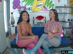 ALL ANAL Jackie Ohh joins Megan Maiden for her first anal pounding