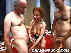 Linda's cock sucking skills are A class and it would be such a shame if I'm the only one who gets to enjoy it. I want my friend here to realize just a treasure this hot granny is and just how willing and ready she is for some pounding - in her pussy and i