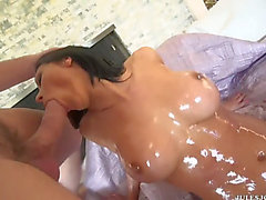 Rachel starr knows how to have a fun a rod