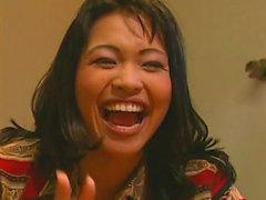 Asiatisch Mädchen Eating Muschi
