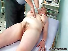 Fake doctor finger fucking his mature part6