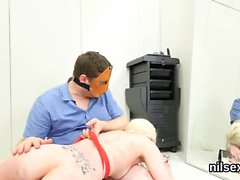 Kinky girl is taken in anal asylum for uninhibited therapy